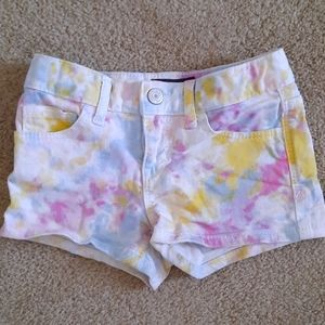GAP Denim Tie Dye shorts